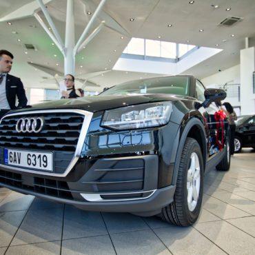 Audi Q2 předána. Děláme značky!