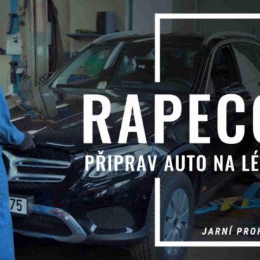 Autoservis Rapeco má nový promospot na letní servis