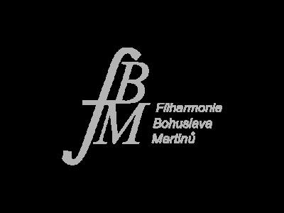 Logo Filharmonie Bohuslava Martinů